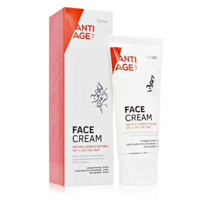 Bioxx Face cream with Natural Growth Factors, hyaluronic acid and active collagen